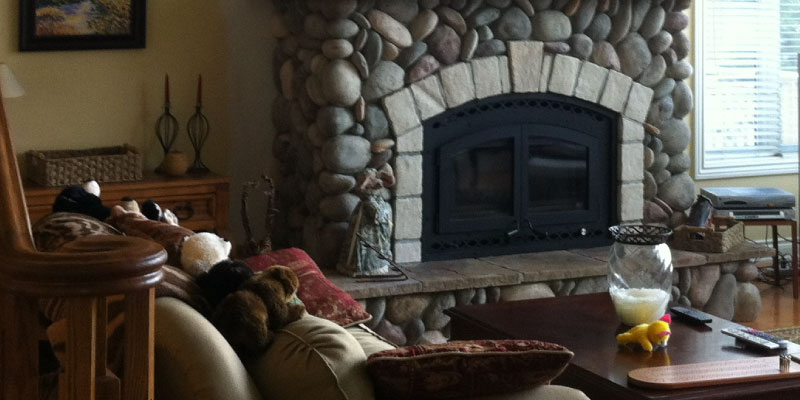Custom Fireplaces & Stoves