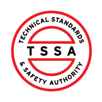 Technical Standards & Safety Authority (TSSA) Licensed